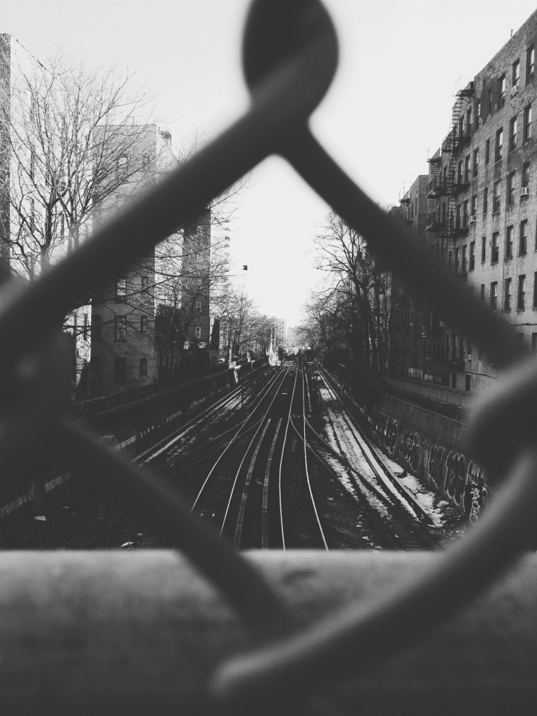 Subway Tracks, Brooklyn