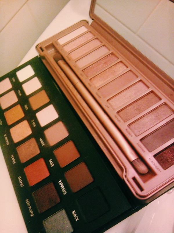 Urban Decay - Naked 3 and the Lorac Pro Palette
